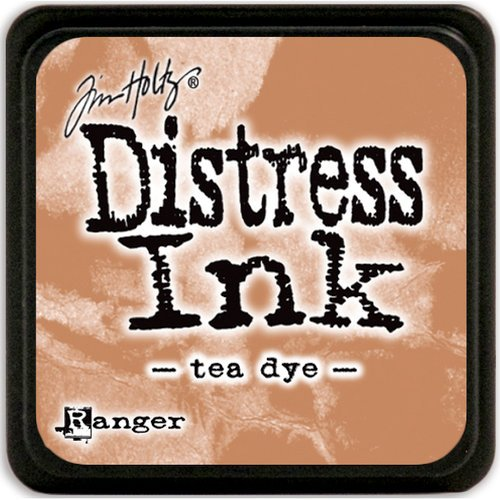 Ranger Ink - Tim Holtz - Distress Ink Pads - Mini - Tea Dye