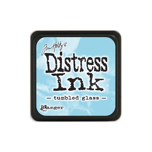 Ranger Ink - Tim Holtz - Distress Ink Pads - Mini - Tumbled Glass