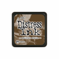Ranger Ink - Tim Holtz - Distress Ink Pads - Mini - Walnut Stain