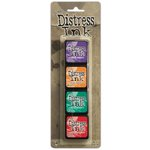 Ranger Ink - Tim Holtz - Distress Ink Pads - Mini Kit - Fifteen