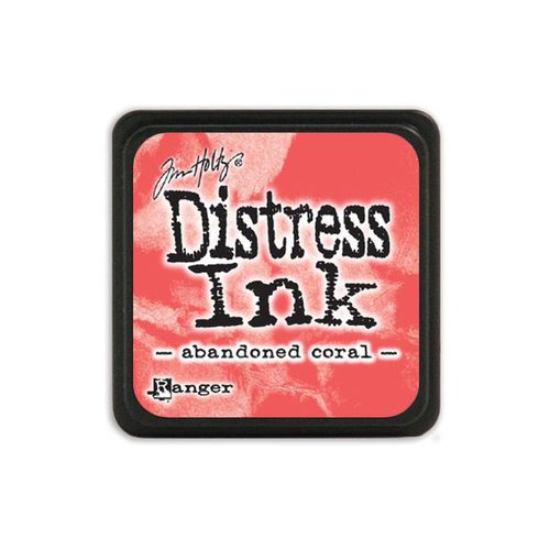 Ranger Ink - Tim Holtz - Distress Ink Pads - Mini - Abandoned Coral