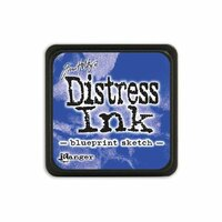Ranger Ink - Tim Holtz - Distress Ink Pads - Mini - Blueprint Sketch