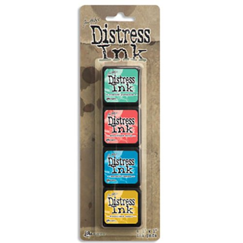 Ranger Ink Distress Ink Mini Cubes Set #13
