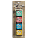 Ranger Ink - Tim Holtz - Distress Ink Pads - Mini Kit - Thirteen