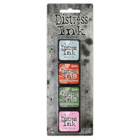 Ranger Ink - Tim Holtz - Distress Ink Pads - Mini Ink Kit - Sixteen