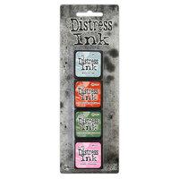 Ranger Ink - Tim Holtz - Distress Ink Pads - Mini Ink Kit - Sixteen