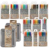 Ranger Ink - Tim Holtz - Distress Crayons Tin and Distress Crayons - Bundle Three