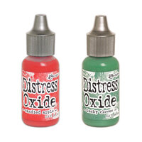 Ranger Ink - Tim Holtz - Distress Oxides Ink Reinkers - Holiday Bundle