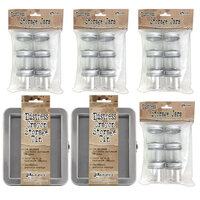 Ranger Ink - Tim Holtz - Distress Crayons Tins with 24 Storage Jars