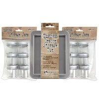 Ranger Ink - Tim Holtz - Distress Crayons Tin with 12 Storage Jars