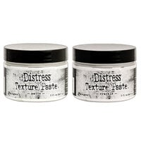 Ranger Ink - Tim Holtz - Distress Texture Paste - 3 Ounces - Matte and Crackle Bundle