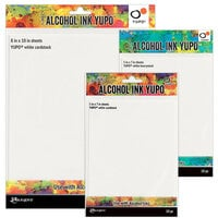 Ranger Ink - Tim Holtz - Alcohol Ink Yupo Paper - Variety Pack