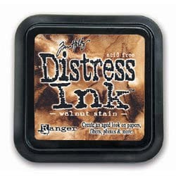 Ranger Ink - Tim Holtz Distress Ink Pads - Walnut Stain