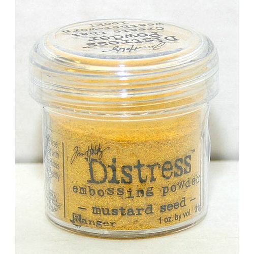 Ranger Ink - Tim Holtz Distress Embossing Powders - Mustard Seed, CLEARANCE