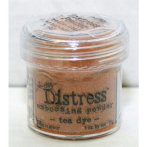 Ranger Ink - Tim Holtz Distress Embossing Powders - Tea Dye