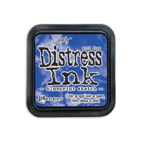 Distress Ink- Blueprint Sketch