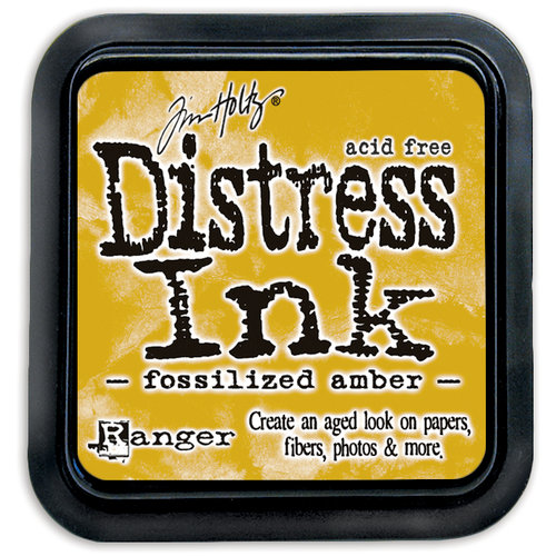 Ranger Distress Ink - Fossilized Amber