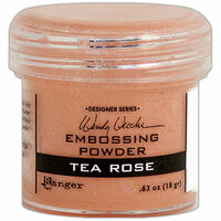 Ranger Ink - Wendy Vecchi - Embossing Powder - Tea Rose