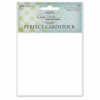 Ranger Ink - Wendy Vecchi - Perfect Cardstock - White Panels - 10 Pack