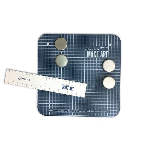 Ranger Ink - Wendy Vecchi - Make Art - Stay-tion - 7 Inch