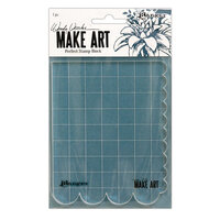 Ranger Ink - Wendy Vecchi - Make Art - Perfect Stamp Block