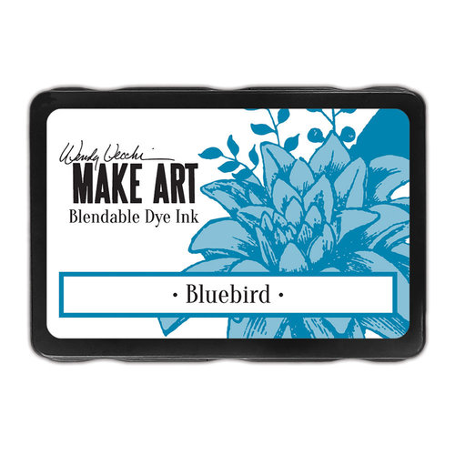 Ranger Ink - Wendy Vecchi - Make Art - Blendable Dye Ink Pad - Bluebird