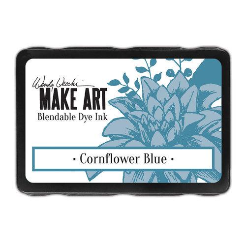 Ranger Ink - Wendy Vecchi - Make Art - Blendable Dye Ink Pad - Cornflower Blue
