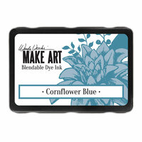 Ranger Ink - Wendy Vecchi - Make Art - Blendable Dye Ink Pad - Cornflower Blue