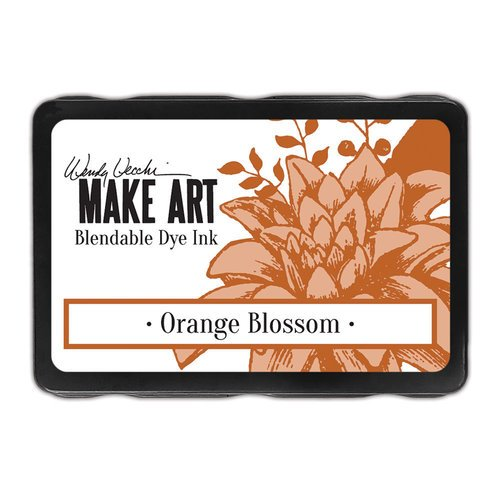 Ranger Ink - Wendy Vecchi - Make Art - Blendable Dye Ink Pad - Orange Blossom