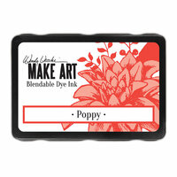 Ranger Ink - Wendy Vecchi - Make Art - Blendable Dye Ink Pad - Poppy