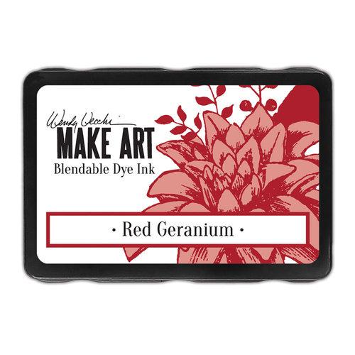 Ranger Ink - Wendy Vecchi - Make Art - Blendable Dye Ink Pad - Red Geranium
