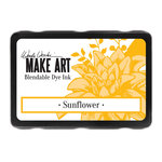 Ranger Ink - Wendy Vecchi - Make Art - Blendable Ink Dye Pad - Sunflower