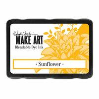 Ranger Ink - Wendy Vecchi - Make Art - Blendable Dye Ink Pad - Sunflower