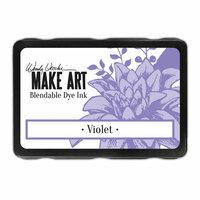 Ranger Ink - Wendy Vecchi - Make Art - Blendable Dye Ink Pad - Violet