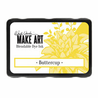 Ranger Ink - Wendy Vecchi - Make Art - Blendable Dye Ink Pad - Buttercup