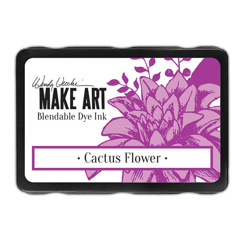 Ranger Ink - Wendy Vecchi - Make Art - Blendable Dye Ink Pads - Cactus Flower