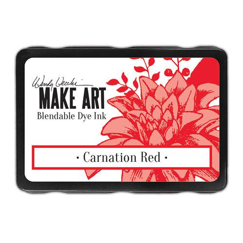 Ranger Ink - Wendy Vecchi - Make Art - Blendable Dye Ink Pads - Carnation Red