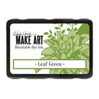 Ranger Ink - Wendy Vecchi - Make Art - Blendable Dye Ink Pads - Leaf Green