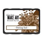 Ranger Ink - Wendy Vecchi - Make Art - Blendable Dye Ink Pad - Potting Soil