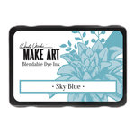 Ranger Ink - Wendy Vecchi - Make Art - Blendable Dye Ink Pad - Sky Blue