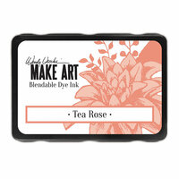 Ranger Ink - Wendy Vecchi - Make Art - Blendable Dye Ink Pad - Tea Rose