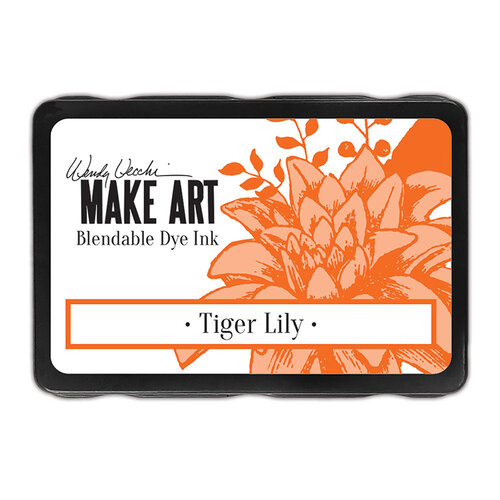 Ranger Ink - Wendy Vecchi - Make Art - Blendable Dye Ink Pads - Tiger Lily