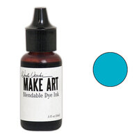 Ranger Ink - Wendy Vecchi - Make Art - Blendable Dye Ink Pad Reinker - Forget-Me-Not