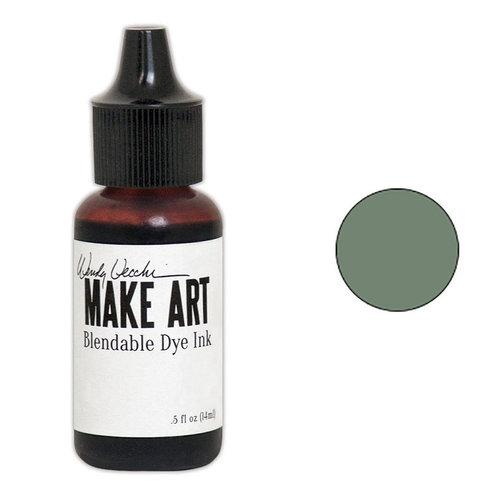 Ranger Ink - Wendy Vecchi - Make Art - Blendable Dye Ink Pad Reinker - Peat Moss