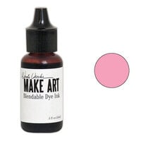 Ranger Ink - Wendy Vecchi - Make Art - Blendable Dye Ink Pad Reinker - Pink Peony