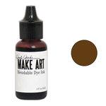 Ranger Ink - Wendy Vecchi - Make Art - Blendable Dye Ink Pad Reinker - Potting Soil