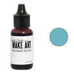 Ranger Ink - Wendy Vecchi - Make Art - Blendable Dye Ink Pad Reinker - Sky Blue