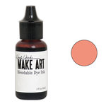 Ranger Ink - Wendy Vecchi - Make Art - Blendable Dye Ink Pad Reinker - Tea Rose