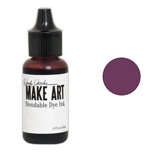 Ranger Ink - Wendy Vecchi - Make Art - Blendable Dye Ink Pad Reinker - Thistle