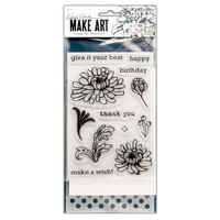 Ranger Ink - Wendy Vecchi - Make Art - Stamp, Die, and Stencil Set - Thank You